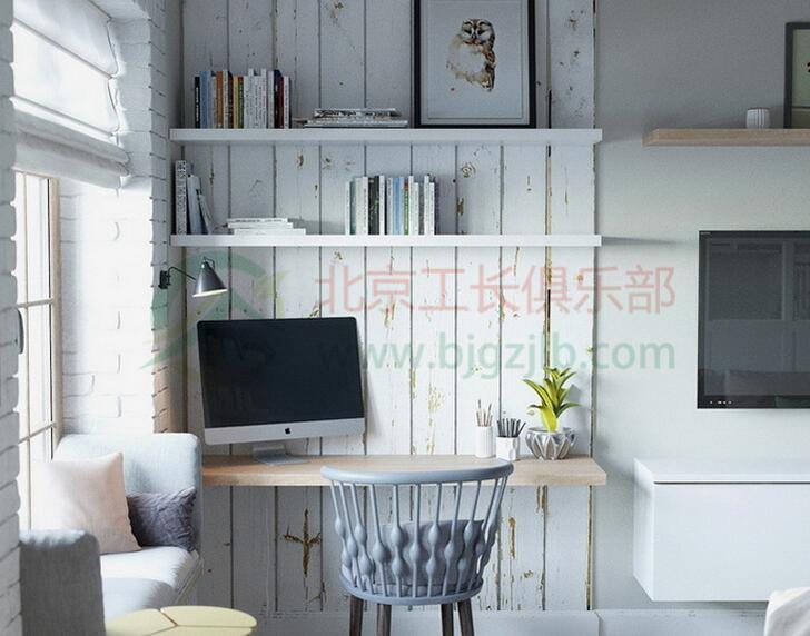 北京房山區東風南里二居室半包簡約裝修案例