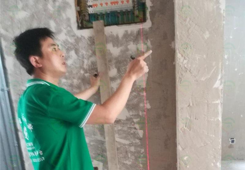 北京市房山區閻村天恒樂活城裝修工地