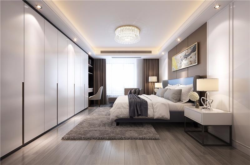 設計主題:70㎡現代簡約風一居室設計_北京裝修設計效果圖