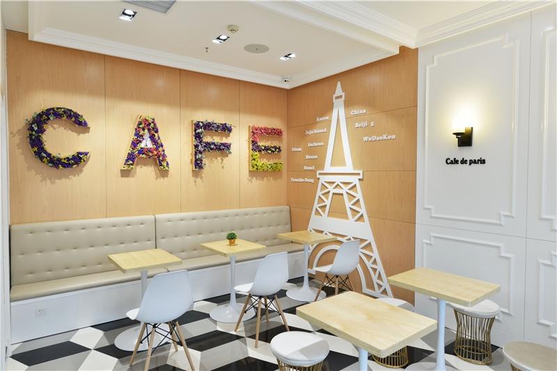 北京市通州區簡約風咖啡廳裝修效果圖