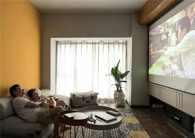 現代化小戶型設計,拋棄電視更自在