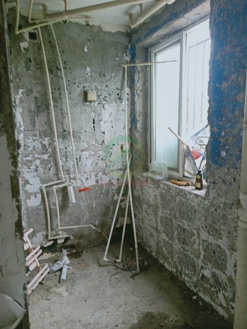 北京通州區東居時代小區施工工地