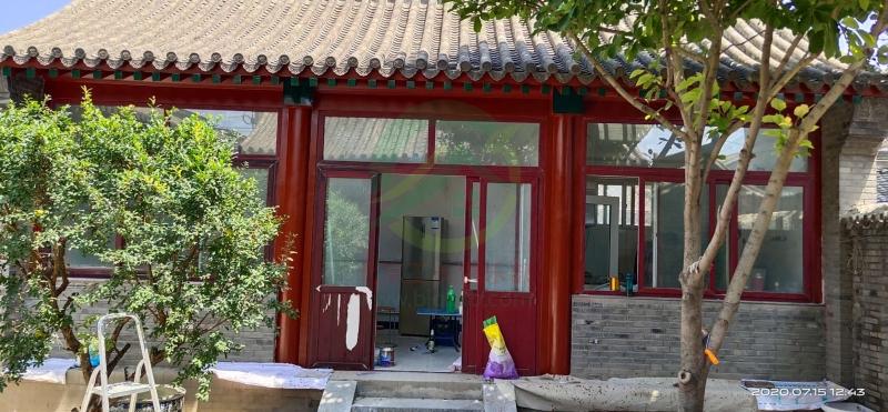 北京房山區常樂寺村施工工地