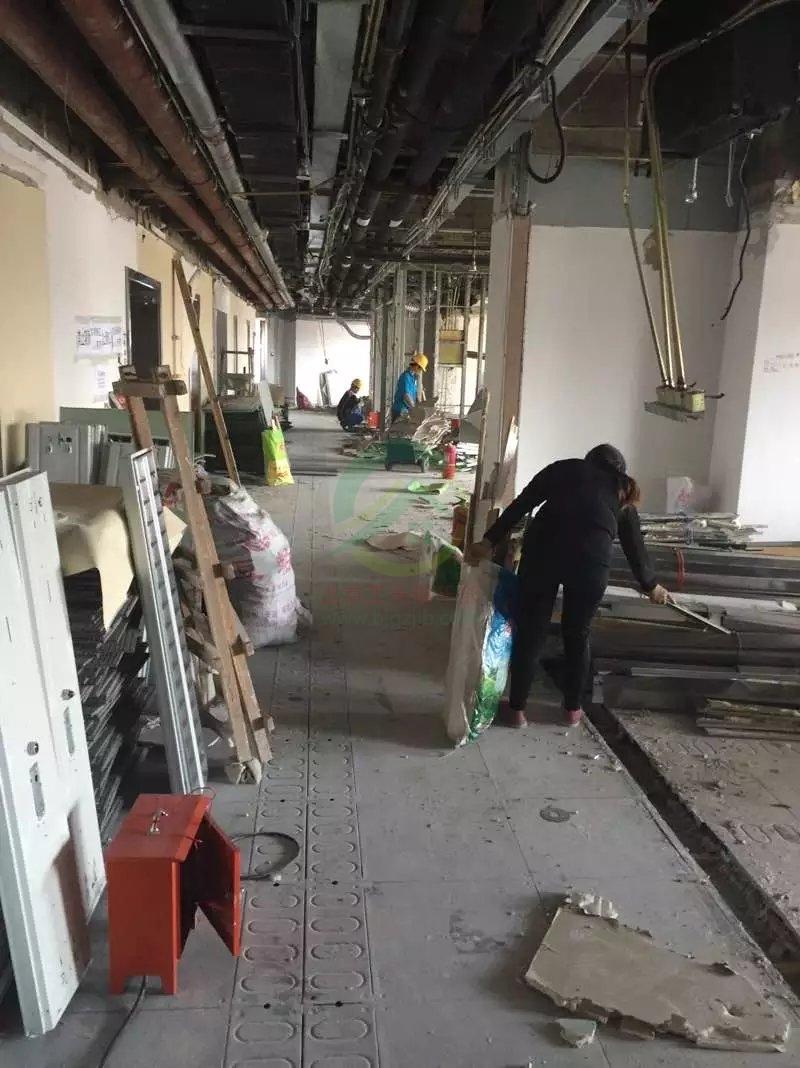 北京西城區廣安門高新大廈施工工地