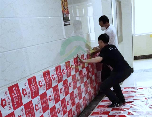 北京市西城區新風街1號院裝修施工現場