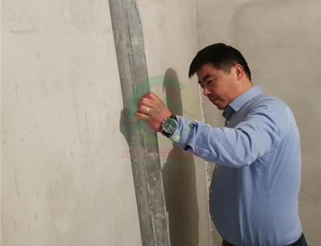北京市豐臺區新華街三里老房裝修施工現場