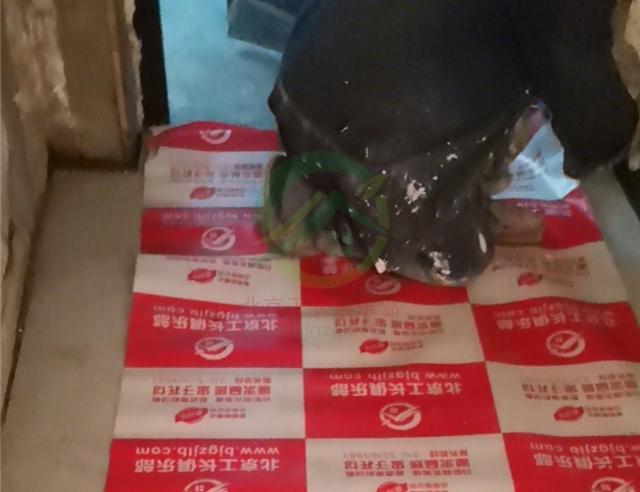 北京市西城區永安路北二號樓二居室裝修施工現場