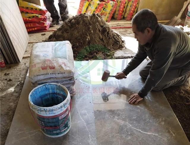 北京市大興區南海家園二里二居室裝修施工現場