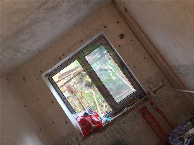 北京市大興區黃村西里三居室裝修施工現場