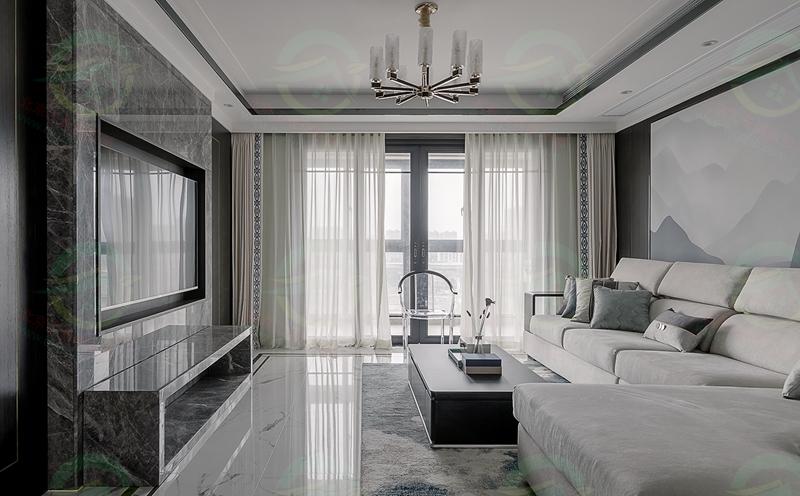 北京大興區西紅門新城熙紅印小區中式現代輕奢裝修