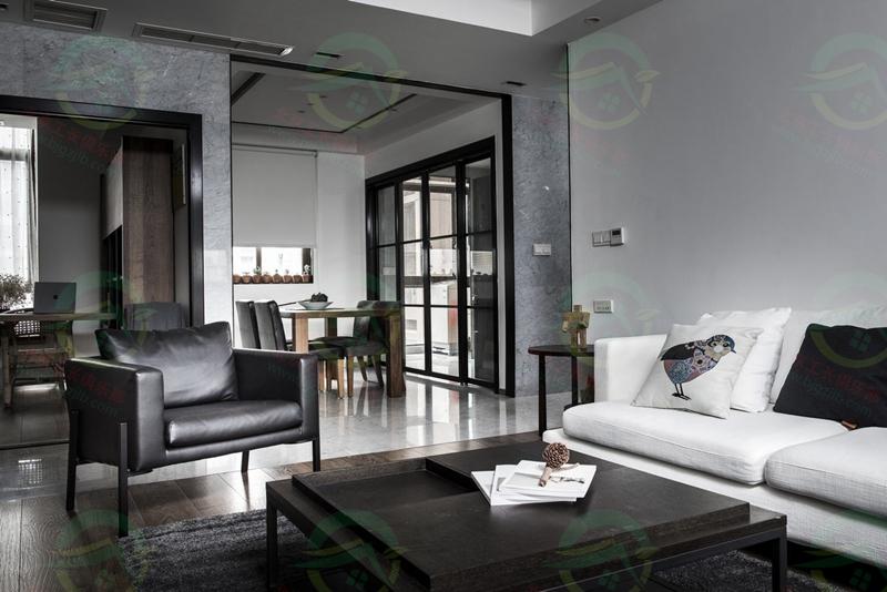 北京豐臺區翡翠西湖小區三居室裝修案例